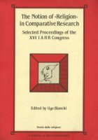 Notion of Religion in Comparative Research (The).