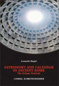 Astronomy and calendar in ancient Rome.