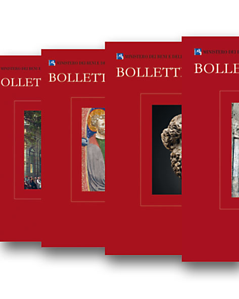 Bollettino d'Arte. (Abbonamento 4 voll. 41- 44 2019) / (Subscription 4 Vols. 41-44 2019.). Prezzo per Istituzioni / Institutional price.