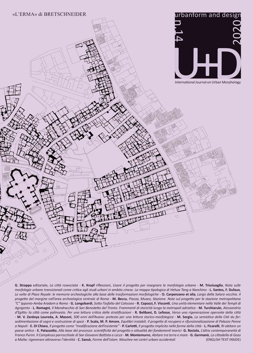 U+D urbanform and design n. 14, 2020