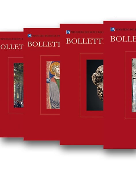 Bollettino d'Arte. (Abbonamento 4 voll. 37-40 / Subscription 4 Vols. 37-40.). Prezzo per Istituzioni / Institutional price.